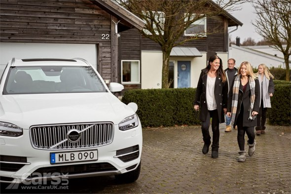 Volvo Drive Me Autonomous Project real family users