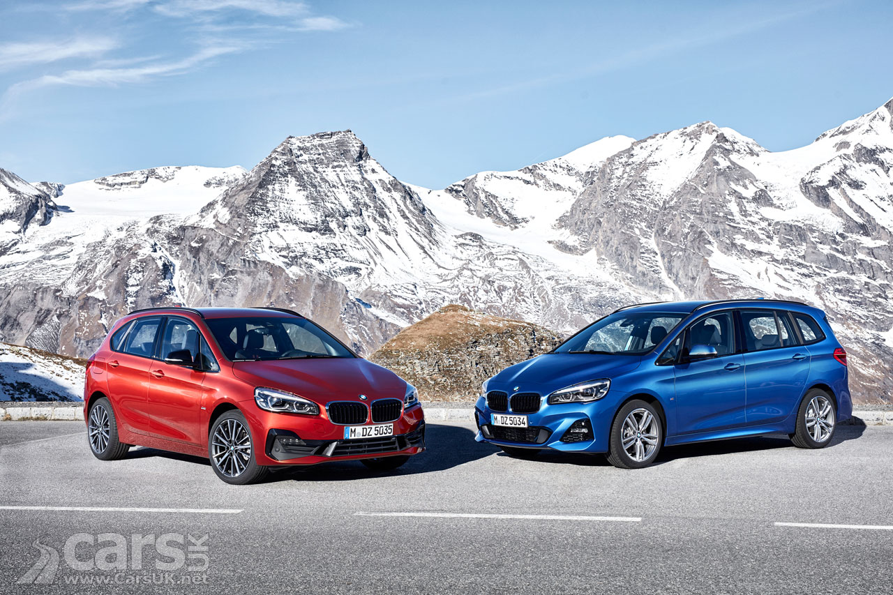 BMW 2 Series Active Tourer and Gran Tourer get tweaks for 2018