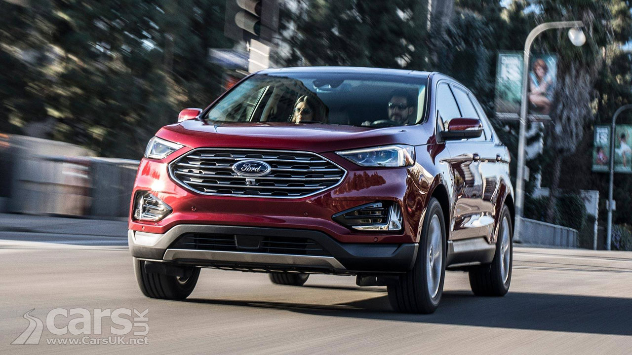 Ford Edge SUV Facelift REVEALED