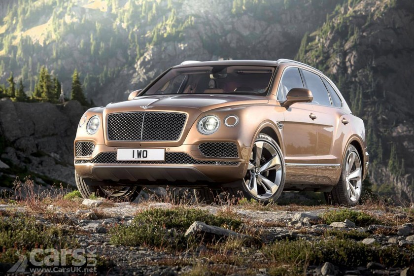 The Bentley Bentayga SUV is heading for Pikes Peak in the summer