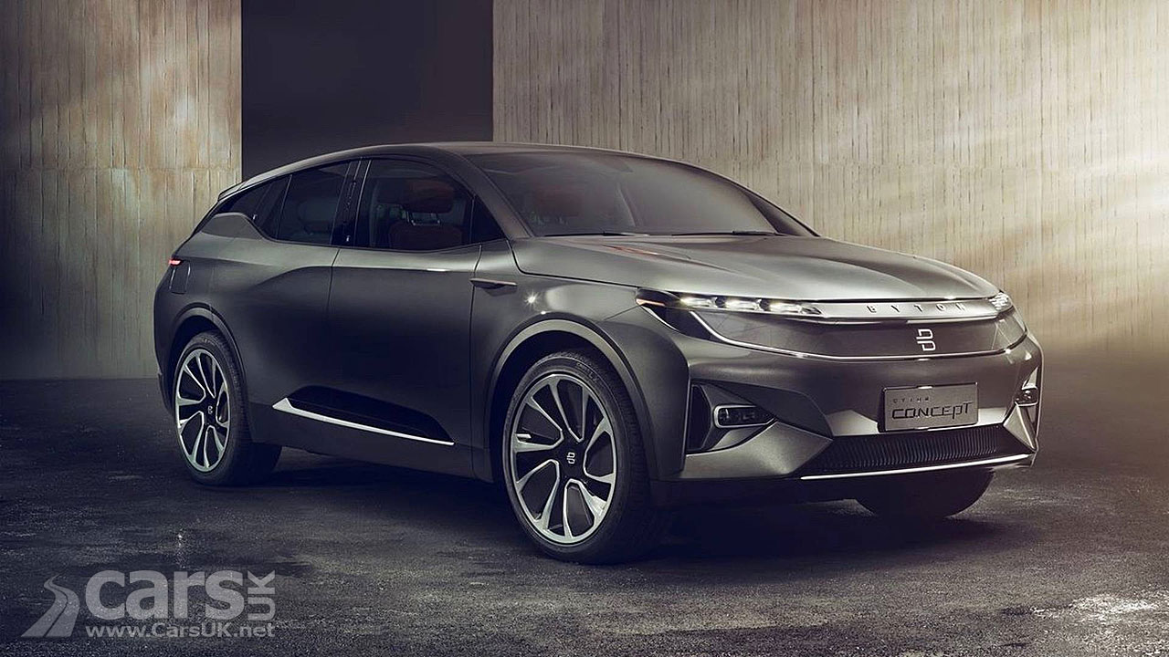 CES: Chinese startup Byton unveils $45000 EV to rival Tesla