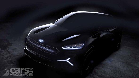Kia Niro EV concept TEASED