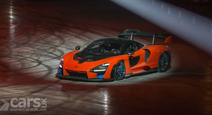 McLaren Senna in ACTION at new McLaren Composites Technology Centre
