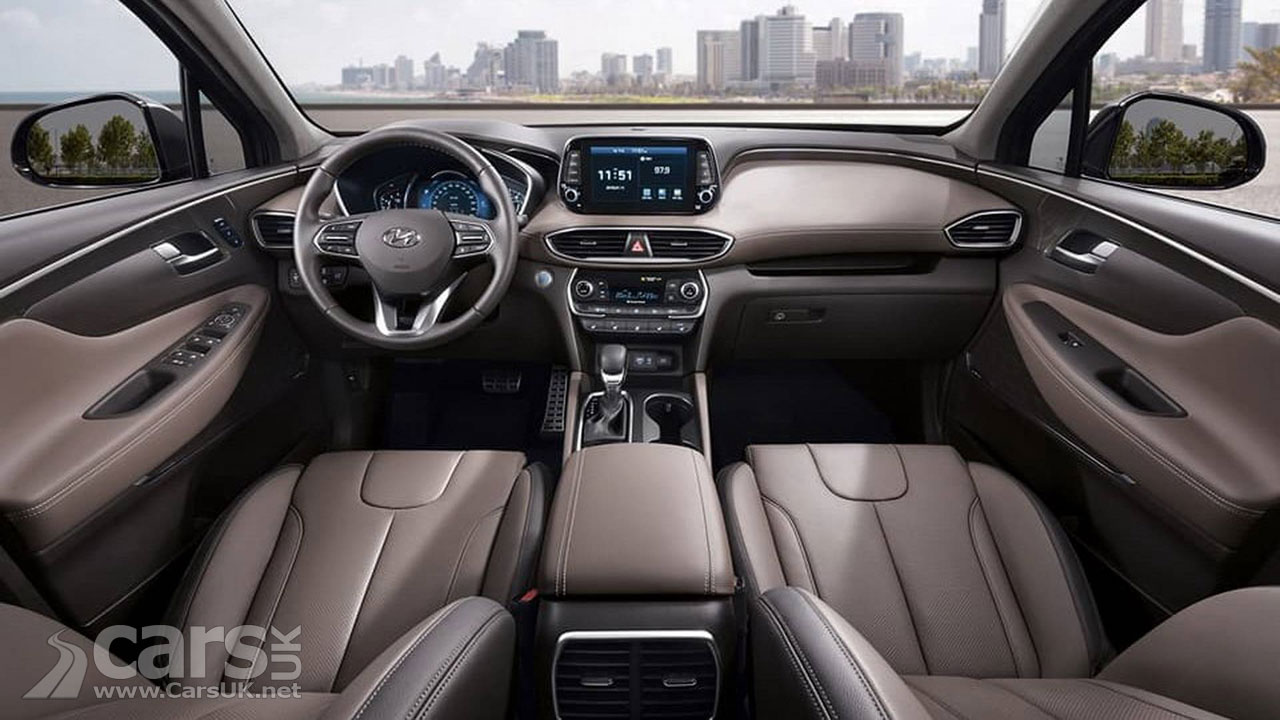 Hyundai Santa Fe first OFFICIAL photos arrive