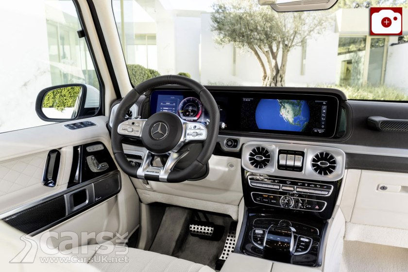 2018 Mercedes-AMG G63 Interior