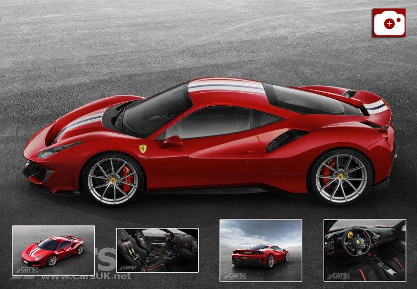 ferrari 488 pista it means 39 track 39 revealed as ferrari 39 s most powerful v8 ever cars uk. Black Bedroom Furniture Sets. Home Design Ideas