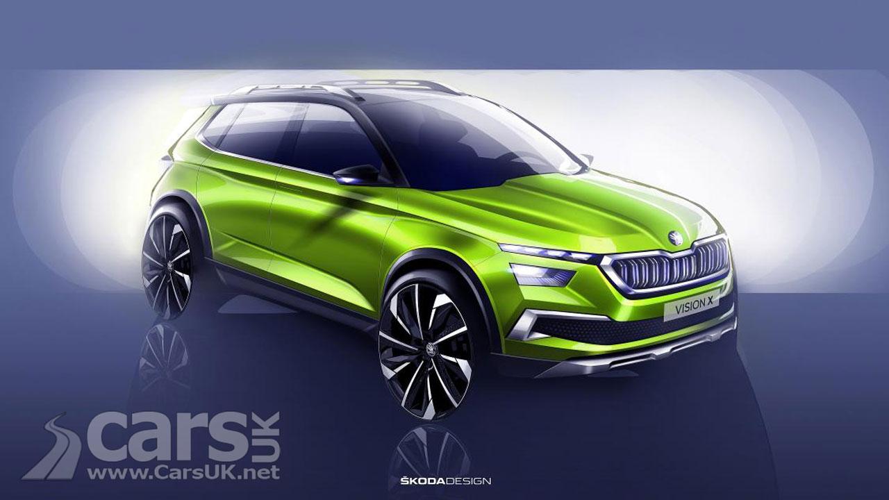Skoda Vision X compact SUV will debut at Geneva motor show