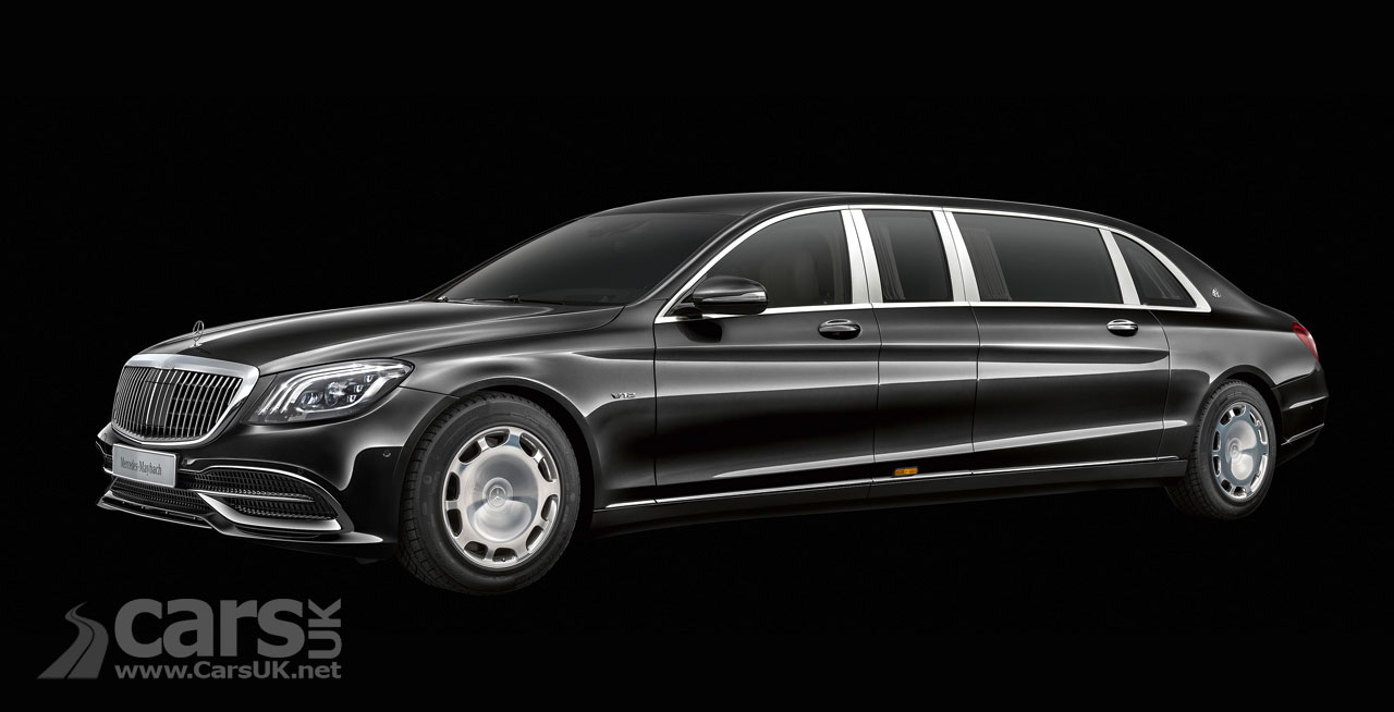Maybach Pullman gets even more decadent