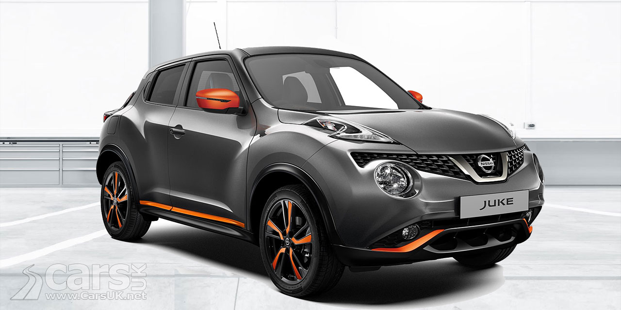Refreshed Nissan Juke uncovered at 2018 Geneva Motor Show