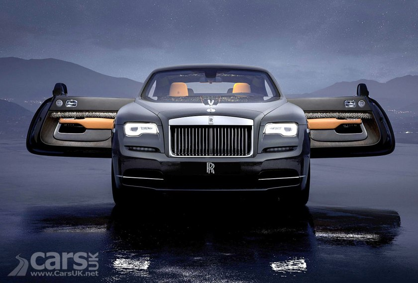 Rolls Royce Wraith Luminary Collection Shooting Stars And Morning