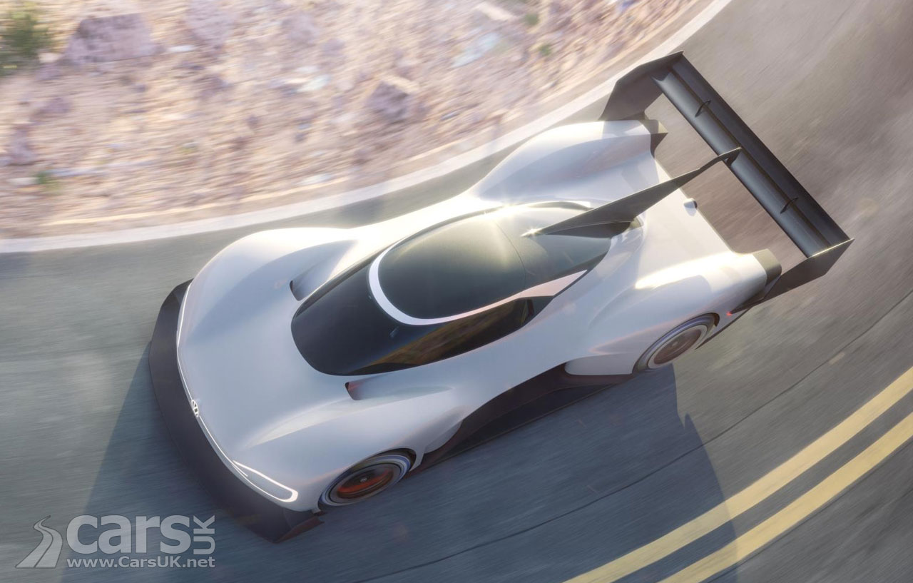 VW Shows Off New ID R Pikes Peak Electric Racer