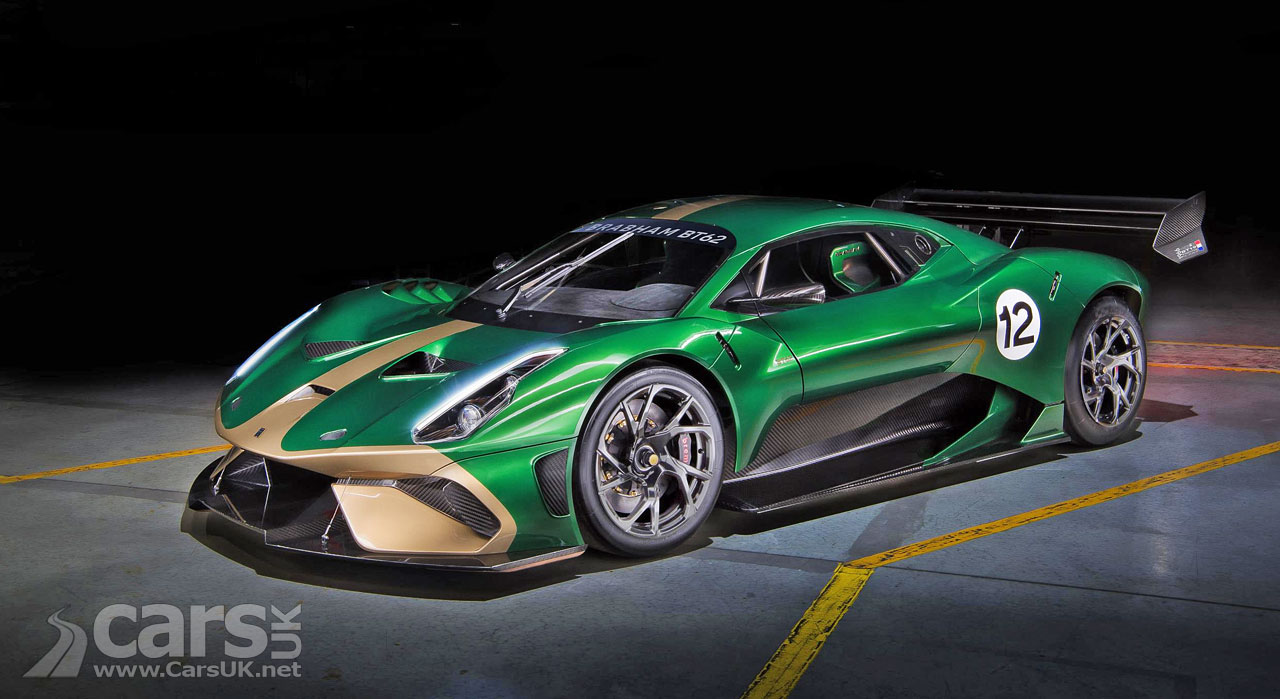 Brabham BT62 Track Supercar OFFICIALLY revealed