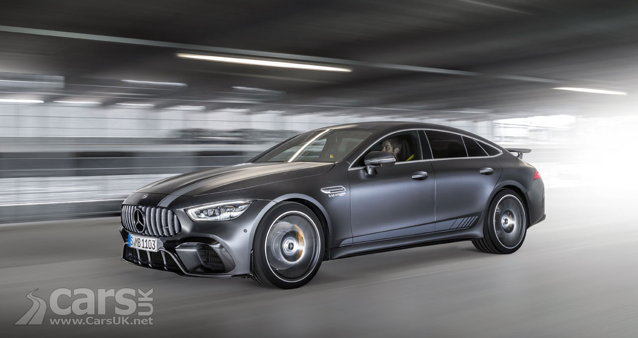 Mercedes-AMG GT 63S Edition 1 Announced - 639 hp, 900 Nm