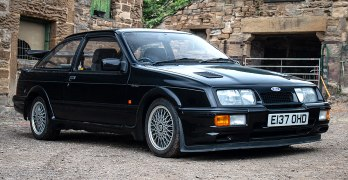 It's another '£100k PLUS' Ford Sierra RS500 Cosworth