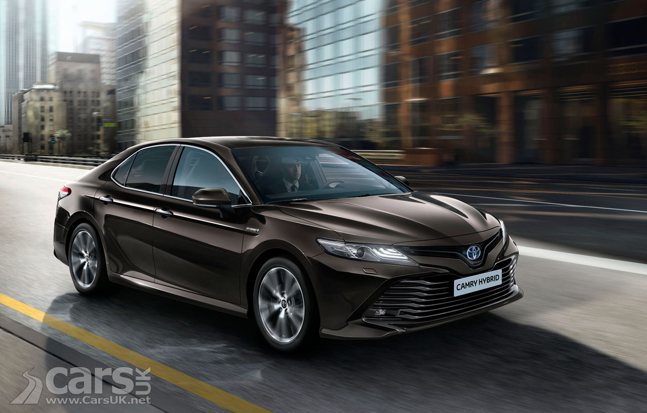 toyota camry returns to the uk after 14 years and it 39 s a. Black Bedroom Furniture Sets. Home Design Ideas