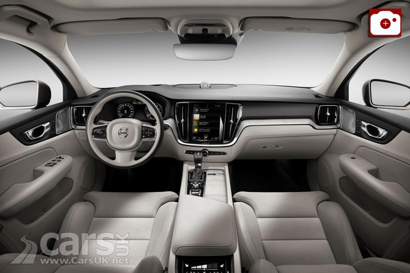 2019 Volvo S60 Inscription Interior