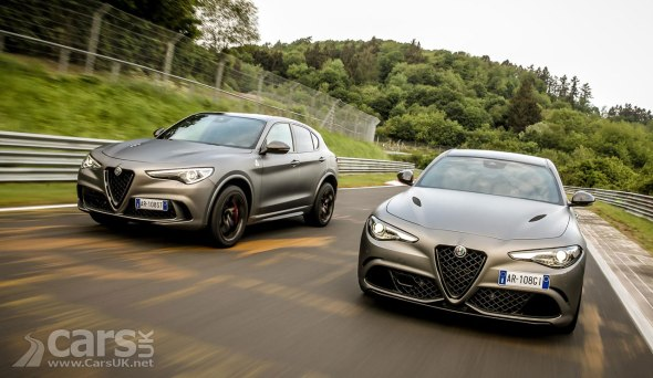 Alfa Romeo Stelvio and Giulia Quadrifoglio NRING