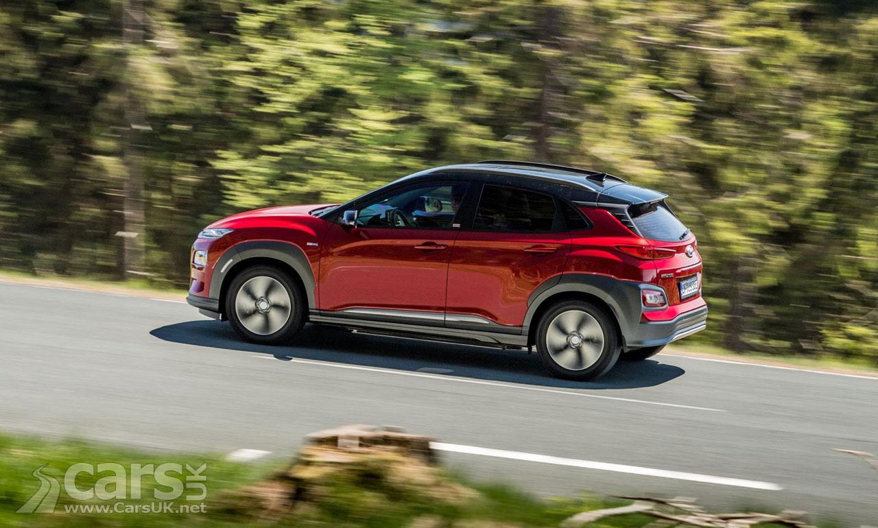 Hyundai kona electric uk price and spec revealed cars uk for Hyundai motor finance number