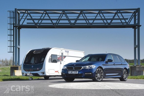 BMW 520d Touring xDrive M Sport is the 2018 TOW Car of the Year