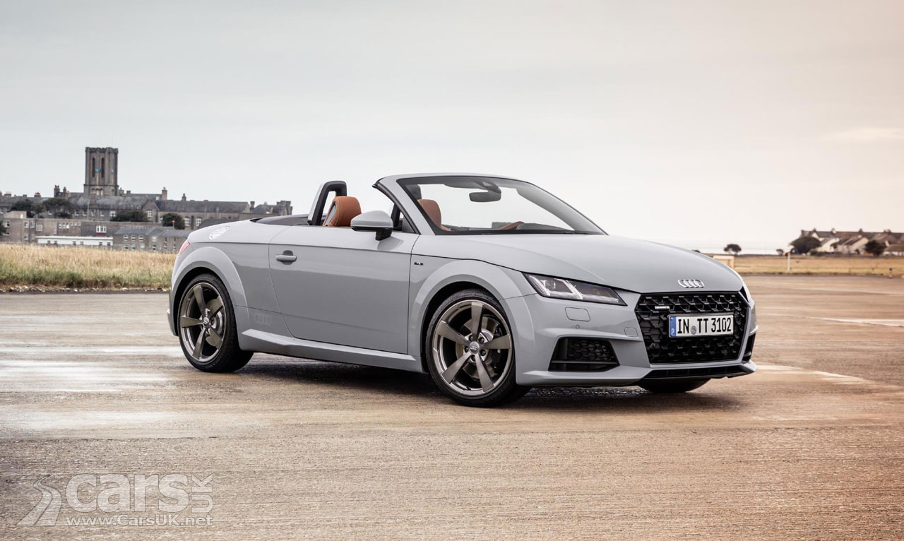 audi tt gets a facelift and there 39 s a 20th anniversary tt too cars uk. Black Bedroom Furniture Sets. Home Design Ideas