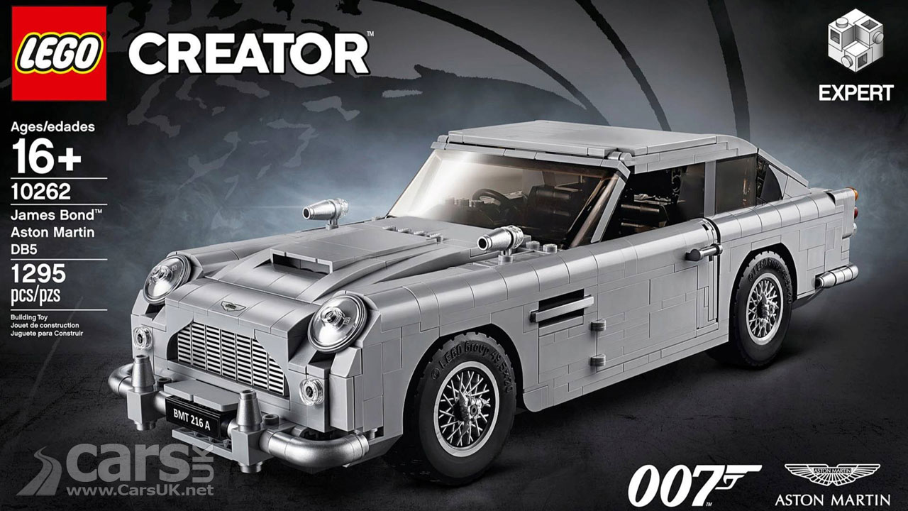 James Bond Lego Car