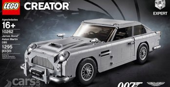James Bond Aston Martin DB5 for sale – the LEGO version (video)