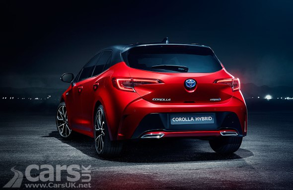 New Toyota Corolla for the UK and Europe