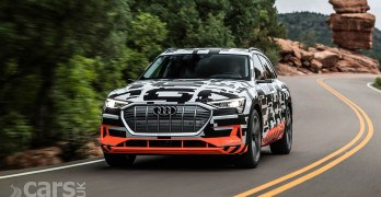 Audi e-tron electric SUV reveals a lot MORE of its secrets
