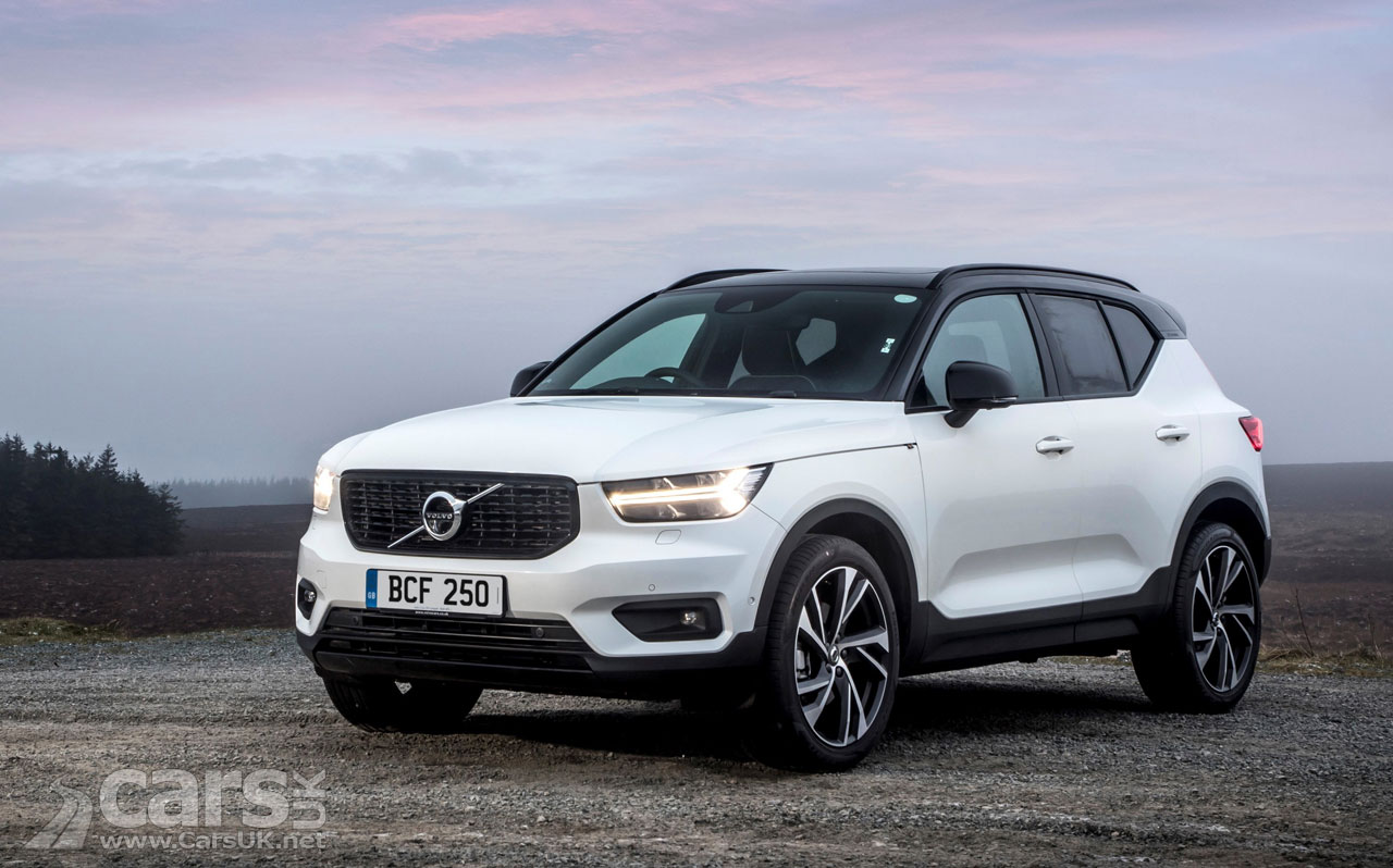 volvo xc40 now with momentum r design and inscription pro options in the uk cars uk. Black Bedroom Furniture Sets. Home Design Ideas