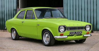 1972 Ford Escort RS1600 expected to make OVER £60,000 at Silverstone Auctions
