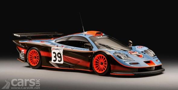 'New' McLaren F1 GTR '25R'