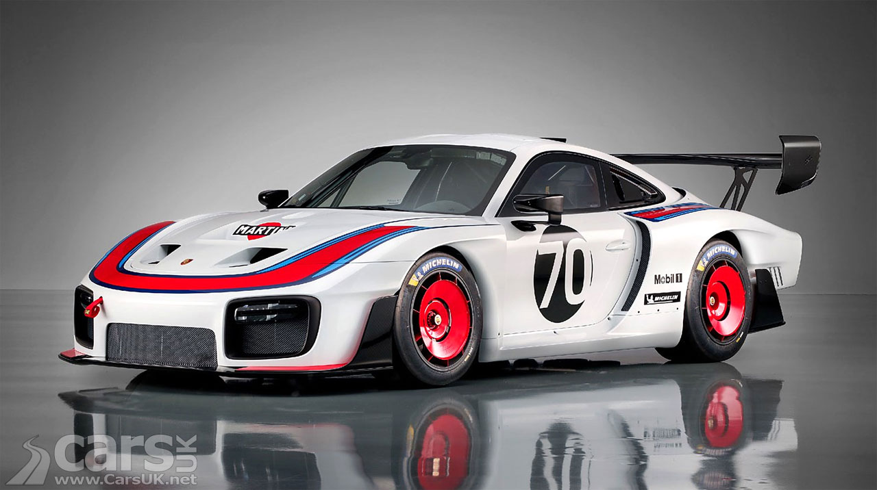 Porsche reveals 935 track day vehicle