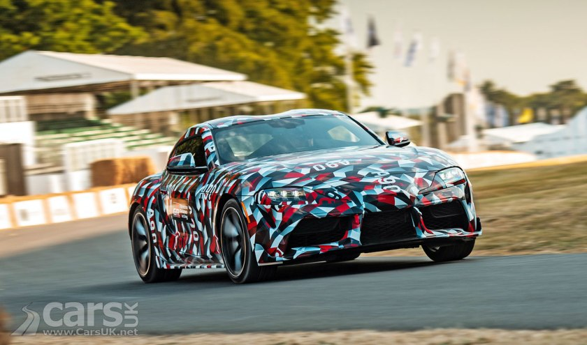 New Toyota Supra Reservations OPEN in the UK