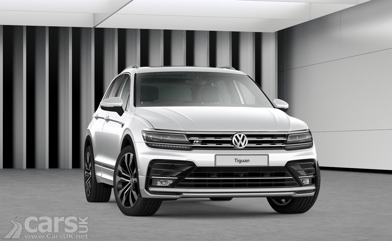 volkswagen tiguan gets match and r line tech trims and new