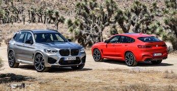 BMW X3 M and BMW X4 M revealed