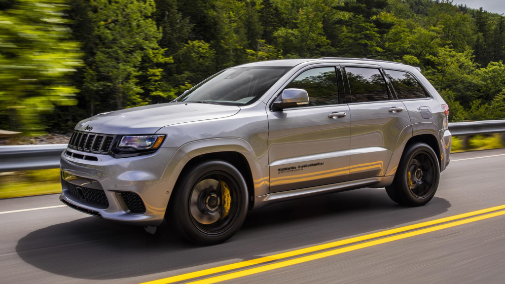 2022 Jeep Grand Cherokee SRT Drivetrain