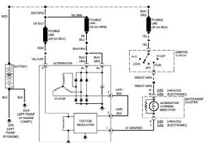 1998 Ford Taurus Wiring Diagram  Wiring Diagram and Schematic