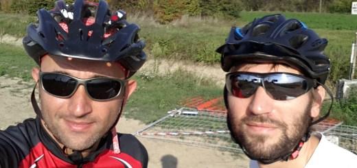Mark Bike e Luca Frabetti percorrono in anteprima la nuova pista ciclabile dell'Amola