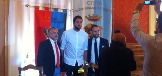 Conferenza stampa di Marco Belinelli