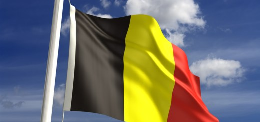 3D Belgium flag (with clipping path)