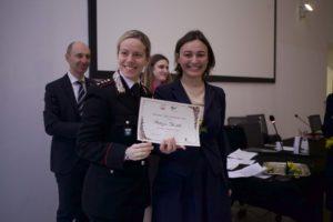Premio Tina Anselmi - Patrizia Gentili con Luisa Guidone copia