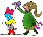 Fichier d'écriture - Les majuscules