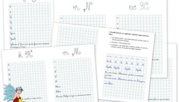 Ecriture Ce1 Fichier De Graphisme Revision Des Majuscules Cartable D Une Maitresse
