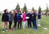 Campeonato de Escuelas de Rugby en el Campo municipal de La Asomada