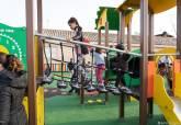 Inauguración del parque infantil de Las Lomas del Albujón