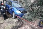 Accidente de tráfico en las Cuestas del Cedacero