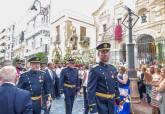 Procesión de la Virgen del Carmen por las calles del centro de la ciudad