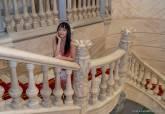 María de Medeiros en el Palacio Consistorial