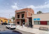 Obras en el local social de El Llano del Beal