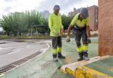 Obras de accesibilidad en el Parque Infantil de Tráfico